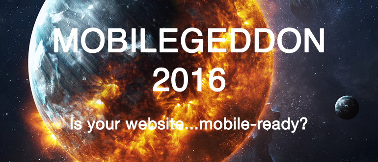 Mobilegeddon 2016 Google Mobile Update